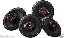 Pioneer TS-R1651D 250W 6 Inch Shallow Mount 3-Way Car Speaker (Pack of 4)