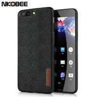 OnePlus 5T Case Soft Cotton Cloth Phone One Plus 5 Silicone TPU +1 Cover NEW 5 T