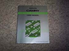 1990 Toyota Camry Electrical Wiring Diagram Manual STD DX LE 2.0L 2.5L V6 4Cyl