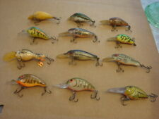 12 Crankbait FISHING LURES Minnow Fish Bait