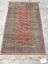 3x5ft. Tribal Afghan Bokharra Wool Rug