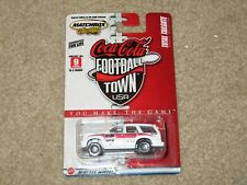 Matchbox Coca-Cola Football Town USA Cadillac Escalade White 1:64 MOC 2004