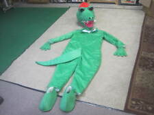 Green Dragon (Alligator?) Adult Mascot Costume  professional quality EXCELLENT!