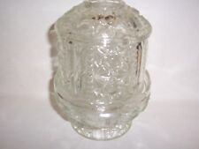 Clear Princess Candle Lamp for tealight or votive Home Interiors Vintage