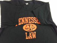 Tennessee Vols Law T-Shirt Womens Small Volunteers School USA Made Combed Cotton