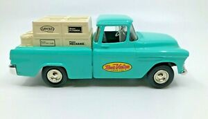 ERTL 1/25 Scale Diecast 1955 Pickup Truck Chevy Bank Coin True Value #12  [02]