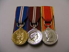 QGJM, QDJM, Fire Service LS&GC Miniature Medal Court Mounted (jubilee)