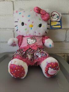 """Build A Bear Hello Kitty 40th Anniversary Plush White Confetti 17"""" CLOTHES BAB"""