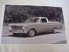 1964 FORD FALCON RANCHERO   11 X 17  PHOTO  PICTURE