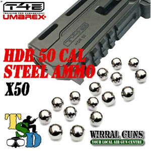 Steel Ammo .50 CAL For HDR50 - HDR - T4E x 50 Balls