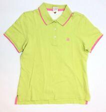 Brooks Brothers Performance Polo Shirt Women Size Medium Chartreuse NWOT