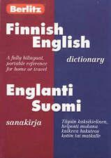 Berlitz Finnish English Dictionary (Berlitz Bilingual Dictionaries)-ExLibrary