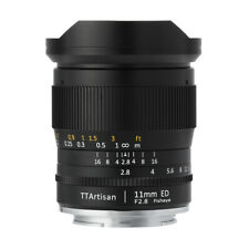 TTArtisans Fisheye11mm F2.8 Full Fame Lens Canon EOS R R5 R6 mount camera