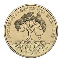 "2018 Australia's Convict Past $1 One Dollar UNC Coin RAM ""C"" Mintmark"