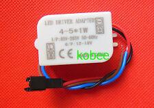 AC 85V-265V to 12V-18V LED Electronic Transformer Power Supply Driver 4-5X1W