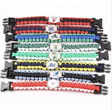 NBA Team Logo Paracord Bracelet (Choose NBA Team)