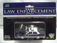 The Law Enforcement Series Wyoming State Police 2001 Ford Crown Victoria