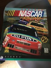 Nascar Racing Software~Sierra Games~Excellent Condition