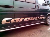 VW Caravelle Seite Aufkleber . CAMPER T25 T4 T5 Seitengrafik volkswagen