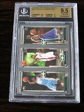 2003-04 Topps Matrix Carmelo LeBron James Ford RC BGS Gem Mint 9.5