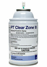 Metered Fly Spray Pyrethrins .975% Metered Spray PT Clear Zone III (12 Cans)