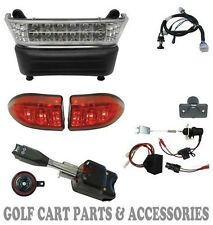 Club Car Precedent Golf Cart  LED Deluxe Head Light Kit (GAS) Street Package