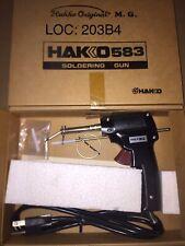 Hakko 583M-V12, SOLDERING GUN, Self-Feed Trigger-Feed SolderWire Spool, NEW