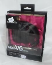 Sony MDR-V6 Monitor Series Headphones CCAW Voice Coil