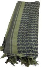 100% tissus coton Military SHEMAGH FOULARD KEFFIEH voile enveloppant Olive &