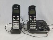 Panasonic KX-TG4731 DECT6.0 Cordless Phone Set of 2 Bases Chargers & Batteries
