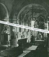 Schongau - Pfarrkirche  - Inensansicht der Kirche - um 1920       T 3-5
