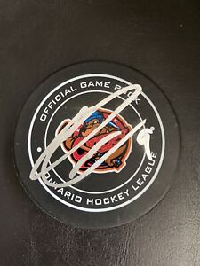 Ryan O'Reilly Signed Erie Otters Game Puck