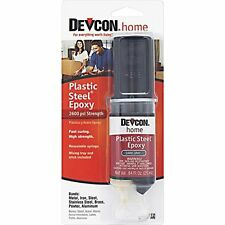 Devcon 62345 S-6 High Strength Plastic Steel Filled Epoxy  Black