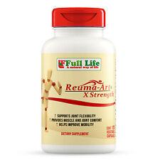 Full Life Reuma-Art X Strength - 120 Veggie Capsules Joint Mobility Supplement