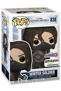 PRE-ORDER - Funko Pop! Marvel The Winter Soldier #838 Year of the Shield Amazon