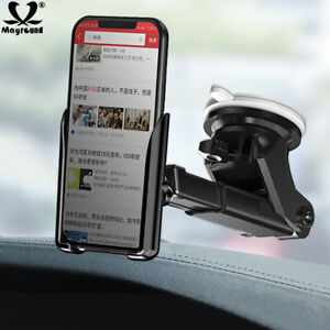 Car Gravity Holder Windshield Mount Stand For Samsung S10 Plus iPhone 11 Pro Max