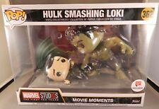Funko Pop! Hulk Smashing Loki Movie Moment Avengers Walgreens Exclusive NEW