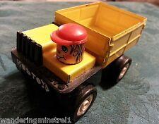 Rare Vintage Kosto Truck Toy Mauritius M. Depose Tin Plastic