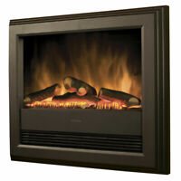 Dimplex grey BCH20 Bach Wall Mounted Contemporary Electric Fire,2kW Fireplace UK