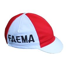 FAEMA RETRO CYCLING TEAM CAP - Vintage - Made in Italy (Eddy Merckx)
