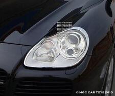 Porsche Cayenne 2003-2006 Headlight Chrome Trim Upgrd (One Pair)