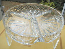 Tudor Crystal HOR D'OEUVRE Bowl Serving Dish Perfect for a Buffet