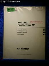 Sony Bedienungsanleitung KP 41PZ1D Projector TV (#1426)