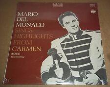 MARIO DEL MONACO Sings Hightlights from Carmen - Everest 3213 SEALED
