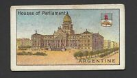 AFRICAN TOBACCO - HOUSES OF PARLIAMENT - ARGENTINE