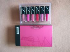 original and new nars six color lip gloss set xmas gift lipsticks 3.4ml  6pcs