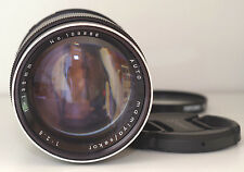 Mamiya Sekor 135mm f2.8 M42 lens with UV filter + front & rear caps