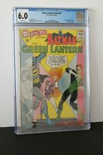 BRAVE AND THE BOLD 59      CGC 6.0      BATMAN AND GREEN LANTERN