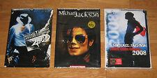5 Michael Jackson official calendars 2006-2007-2008-2009-2010 photos THRILLER 25