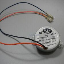 AC 100 110 120V VAC motor 4 R.P.M  60Hz CW/CCW , MS 1139 , 3.8W , New Old Stock